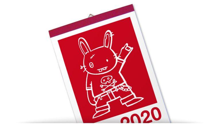 hasendisko calendar 2020