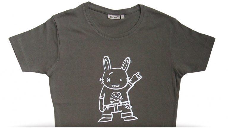 hasendisko shirt – rock on! – women, olive