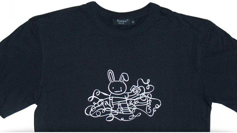 hasendisko shirt - tape spaghetti, men