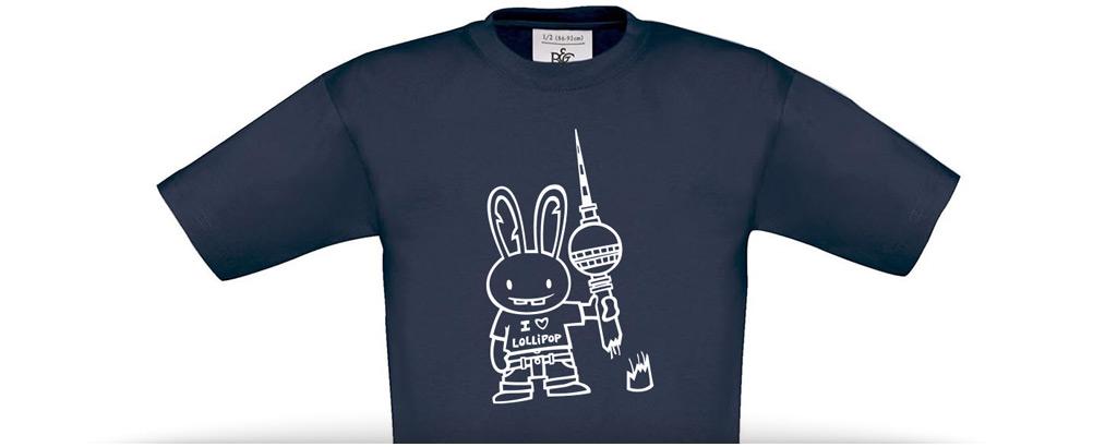 """Kids shirt """"Berlin"""""""